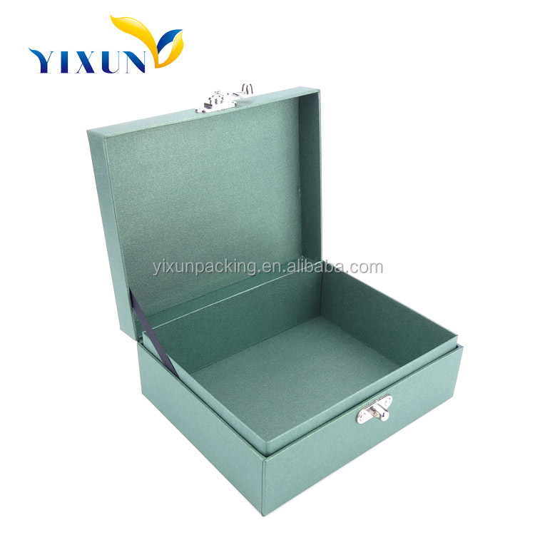 handmade luxury promotional gift metal jewelry box