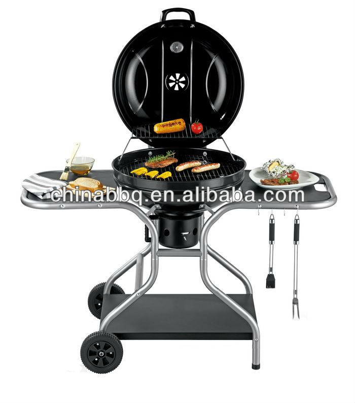 outdoor kitchen grill bbq built in charcoal barbeque grill