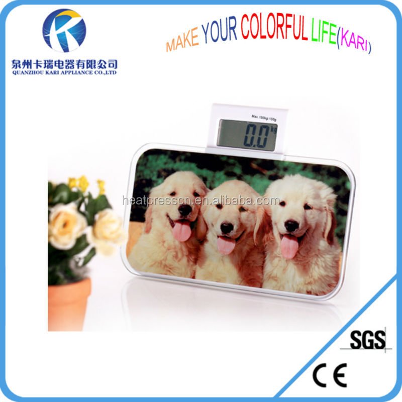 Mini electronic said glass photo frame for sublimation