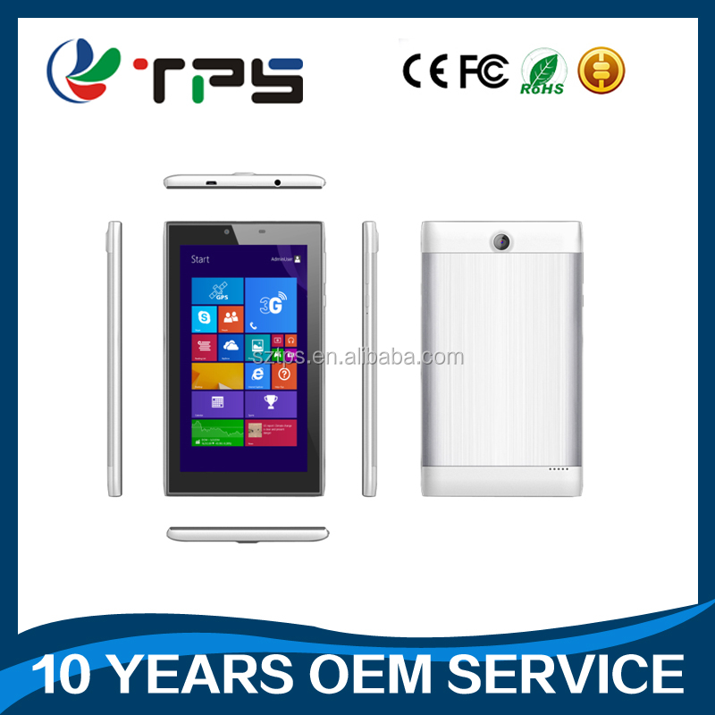 7 inch dual OS Win10 Android 5.1 Baytrail-T Z3735G/F Quad core tablet pc 1GB+16GB/2GB+ 32GB Tablet