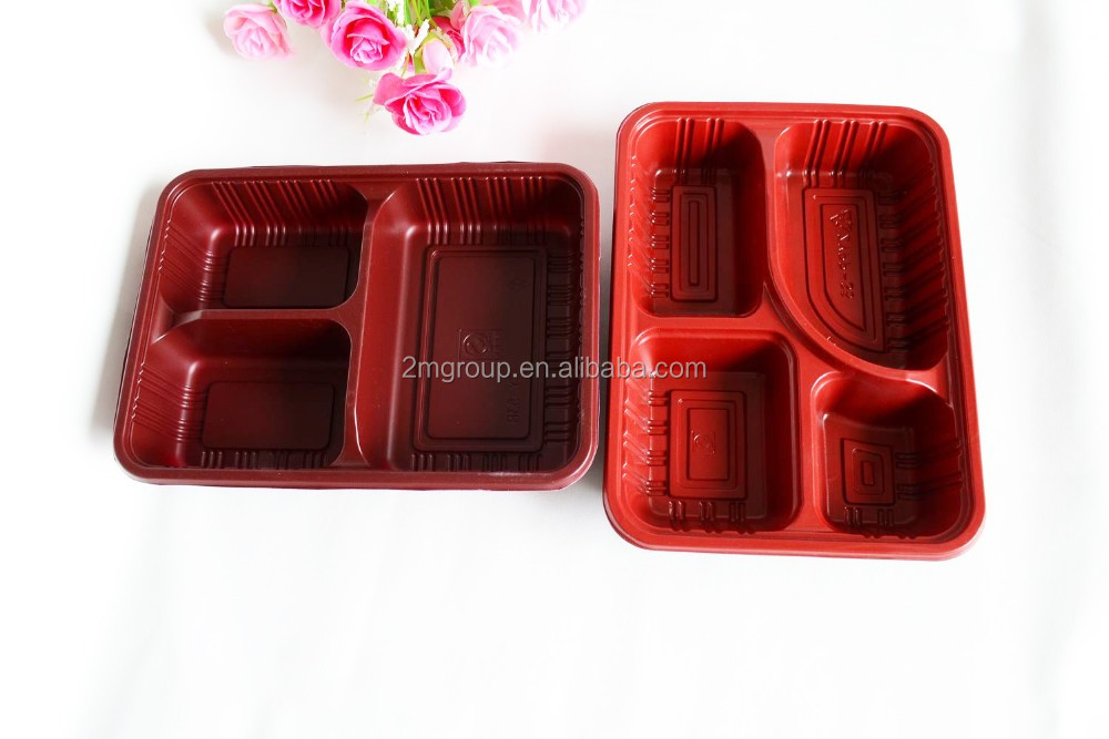 1/2/3/4/5/6-Compartments Microwave safe bento box food container
