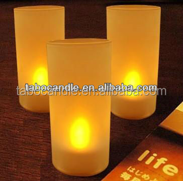 led light candles scented wholesale/home decoration indian