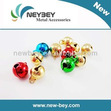 Fashion colored small brass jingle bells for holiday decoration BB302