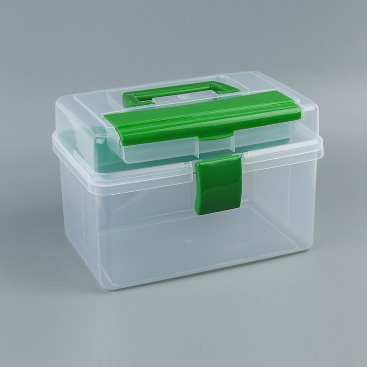 Latest arrival OEM quality transparent hard case different colors tool box