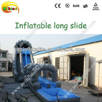 2013 new giant inflatable pool slide for adult