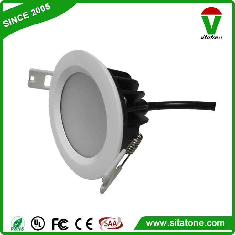 round square 3w 5w 7w 9w 12w 15w 18w 20w IP44 IP65 waterproof led downlight for kitchen bathroom hallway