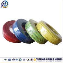 stranded copper conductor 2.5mm PVC insulated electrical wire/cable price