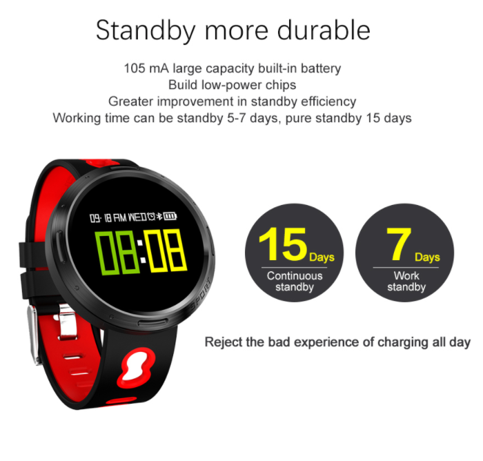 IP68 Waterproof fitness tracker band Blood Oxygen Movement Statistic heart smart bracelet X9VO
