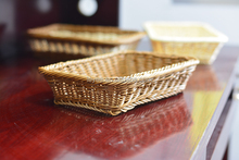 Supermarket used selective rattan fruit storage basket for bread fruit