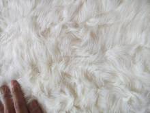 Top quality and factory price lake lamb short curly hair Fur plate real fur fabric