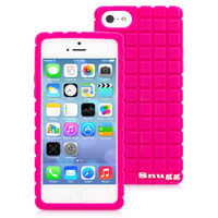 Snugg case for iPhone 5 Squared Skinny Fit Protective Case Cover in Hot Pink
