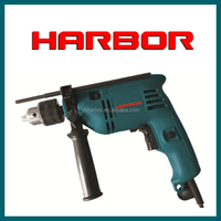 HB-ID024 HARBOR 2016 hot selling 13mm high power electric power tools electric drill cable percussion drilling rig power tool