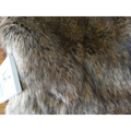 OEKO-TEX China LULU soft and smooth Double color faux fur fox faux fox fur fabrics 3BSK0145