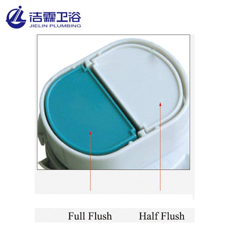 High quality american standard toilet tank parts top push watermark dual flush valve