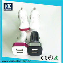 China Wholesale high quality usb car charger 4 port SZKUNCAN factory