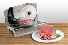 "7.5"" Inch S/S Blade Automatic Electric Frozen Meat Slicers Food Cutting Machine for Home Kitchens ,Model FS1B"