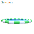 Popular custom round shape inflatable swimming pool
