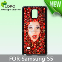 Trendy unique PC sublilation cell cases for Samsung S5