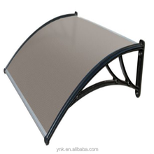 Easy assemble UV protection Polycarbonate awning for windows