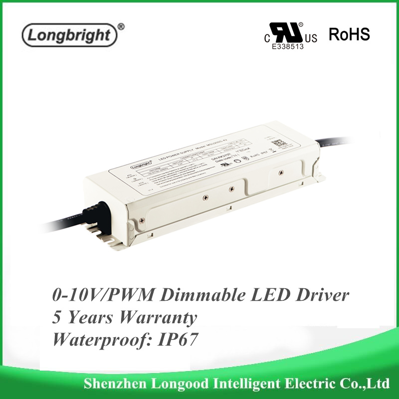 Waterproof 0-10v PWM Rx dimmable LED dimmable Driver Dimmable Constant Current LED Power Supply 200W 185W 150WLED Dimming Driver