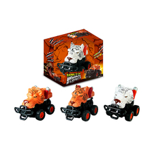 Animal empire hand-painted 4WD car friction animal toy car for kids