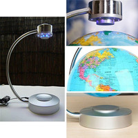 Floating and rotating magnetic suspended globe display desk decoration Magnetic floating globe display