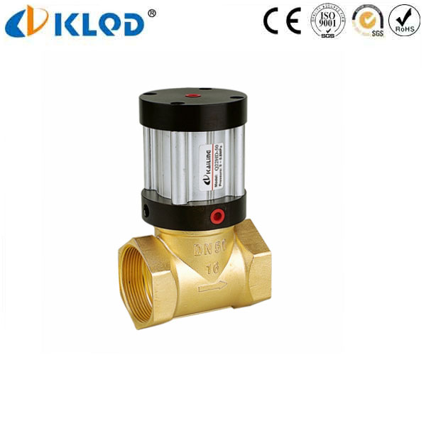 Q22HD-40 Series Mini Pneumatic Control Piston Oil Valve