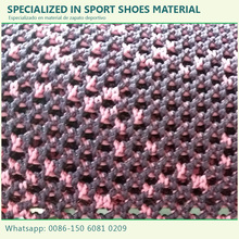 Wholesale new fashion 1.4mx30m fly knit fabric upper material