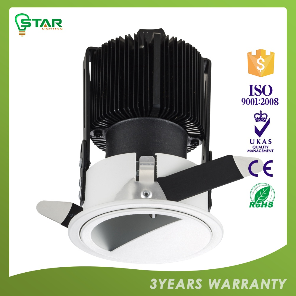 Quick Lead With Custom Printed Logo 3-Year Warranty Ce ,Rohs Certified Katalog Lampu Downlight Led