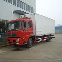 12 -15 Cbm Refrigerated Van Vehicle,12- 15 Ton Frozen Sea Food Refrigerated Trucks,Food Container Carrier