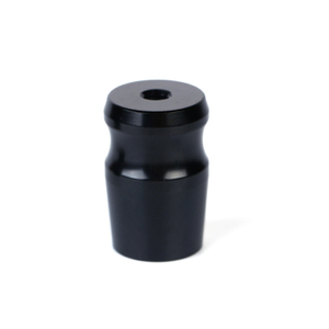 Custom Digital Camera Cnc Machining Service Black Anodized Lens Spare Part in Dongguan Factory