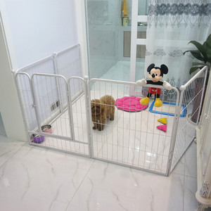 indoor hot dog cage pet puppy pen enclosure folding rabbit fence