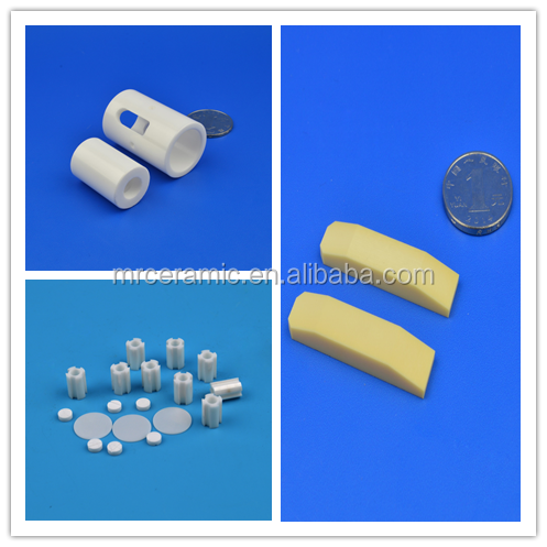 Industrial Raw Materials Ceramic Parts Alumina Grinding cylinder for industry