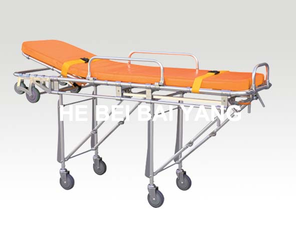 B-21 Aluminum Alloy Stretcher Trolley