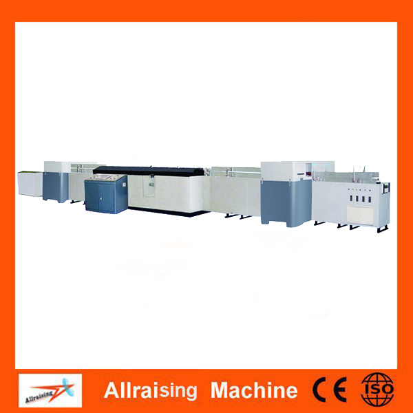 book production line book spine gluing machine with gauzing unit binding