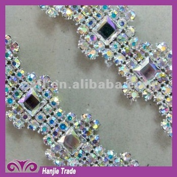 Wholesale Crystal Rhinestone Banding in AB color