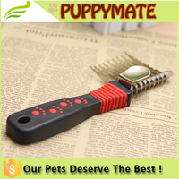 Pet Grooming Comb Tool Dog Rake Comb Trimmer Stainless Steel Dog Comb