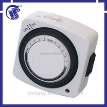 Japan 24 Hours Programmable Mechanical Timer with 1,200W Maximum Power and 120V AC 10A