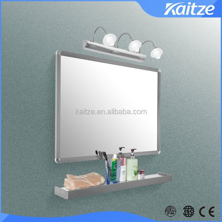 Stainless Steel Framed Bathroom Mirror With Led Light Buy Bathroom Mirror Illuminated Mirror
