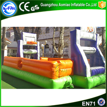 Fashionable sports football arena new inflatable soccer field for sale