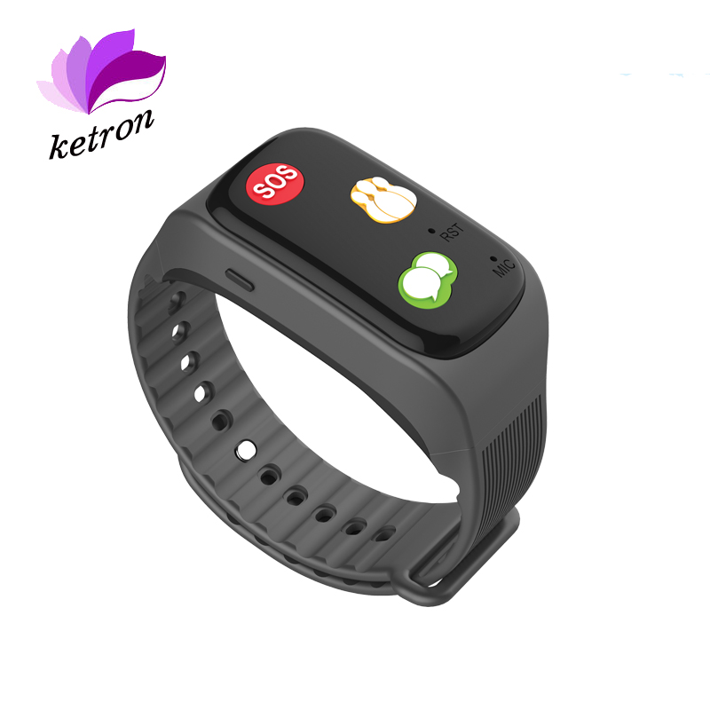 wholesale alibaba one key call GPS sos button elderly cell phone smart watch phone