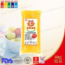 1.2kg attractive design soft tube packed fruit pineapple jam