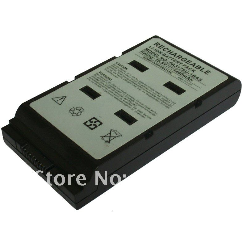 Laptop battery for Toshiba Portege A100 A200 5000 5005 series