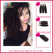 Hot Sale And Best Price,unprocessed virgin brazilian hair ,wholesale jerry curl pictures No Chemical