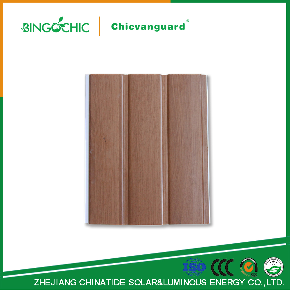 Waterproof Interior Wooden Design PVC Ceiling Panels