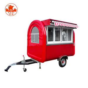 Electric Gasoline Energy Snack Food Cart Mobile Fast Food Truck For Sale Europe