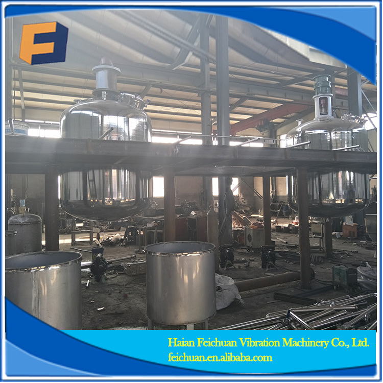 Stainless steel complete emulsion complete paint production line