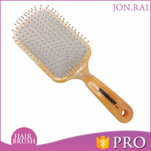 Plastic Paddle Massage Cushion Hair Brush Comb With Bellow Pot Gasbag