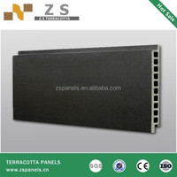 Solar panel for exterior wall, clay wall brick of building materilas