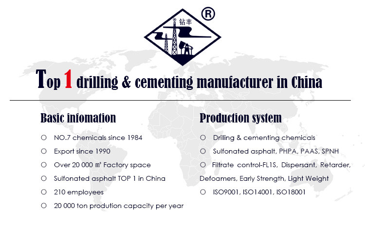 Oil field Drilling Chemical Sulfonated asphalt Shale Stabilizer